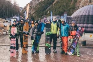 Uscita di Snowboard Alpinismo durante Snow Shop Test 2016