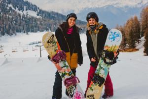 Elena Sassi e Chiara Bordignon